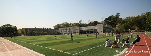 Choong Ang Boys High School Playing Field